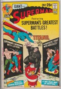Superman #239 (Jul-71) VF/NM High-Grade Superman, Jimmy Olsen,Lois Lane, Lana...