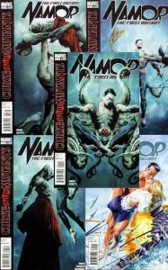 NAMOR FIRST MUTANT (2010) 1-5  ROYAL BLOOD complete!