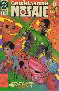 GREEN LANTERN MOSAIC 1-4 JON STEWART ON OA!!!THE SET!
