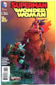 SUPERMAN / WONDER WOMAN #16, NM, Harley Quinn, 2014, New 52, Variant