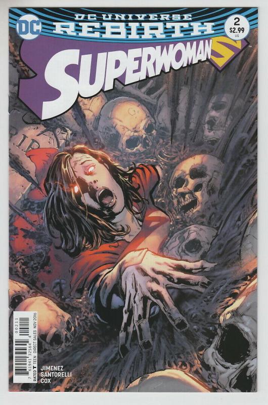 SUPERWOMAN (2016 DC) #2 NM- A90144