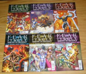 Fear Itself: Youth in Revolt #1-6 VF/NM complete series - sean mckeever gravity