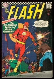 THE FLASH #170 1967-DC COMICS-DR FATE-DR MIDNITE-GOLDEN FN