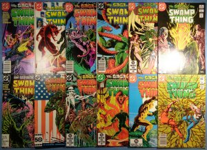 Swamp Thing Lot #3 #4 #5 #6 #7 #9 #10 #11 #13 #14 #44 #53 1982 2nd Series