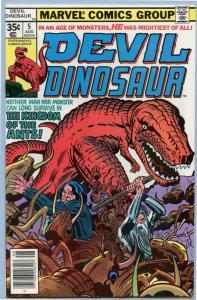 Devil Dinosaur 5 Aug 1978 VF- (7.5)