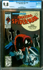 Amazing Spider-Man #308 CGC Graded 9.8 Taskmaster appearance.