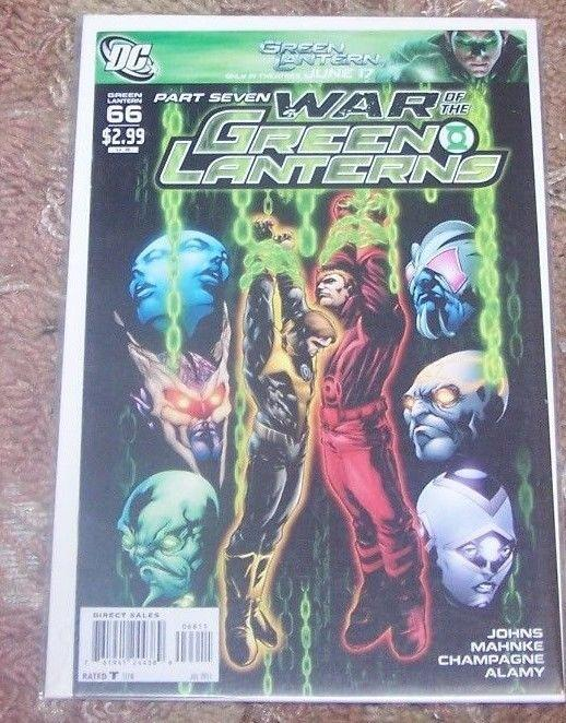 GREEN LANTERN   # 66 WAR OF THE GREEN LANTERNS PT 7