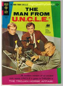 MAN from U.N.C.L.E. #10, VF-, Vaughn, Photo, Gold Key, 1965, more in store