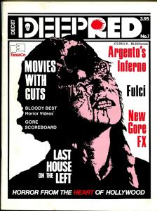 Deep Red #1 12/1987-Fantaco-horror movies-1st issue-Tobe Hooper-FN+