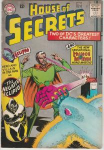 House of Secrets #74 (Oct-65) VF+ High-Grade Eclipso