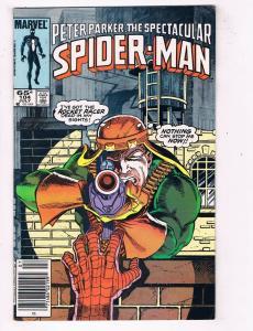 Peter Parker The Spectacular Spider-Man #104 VF Marvel Comics Comic Book DE45