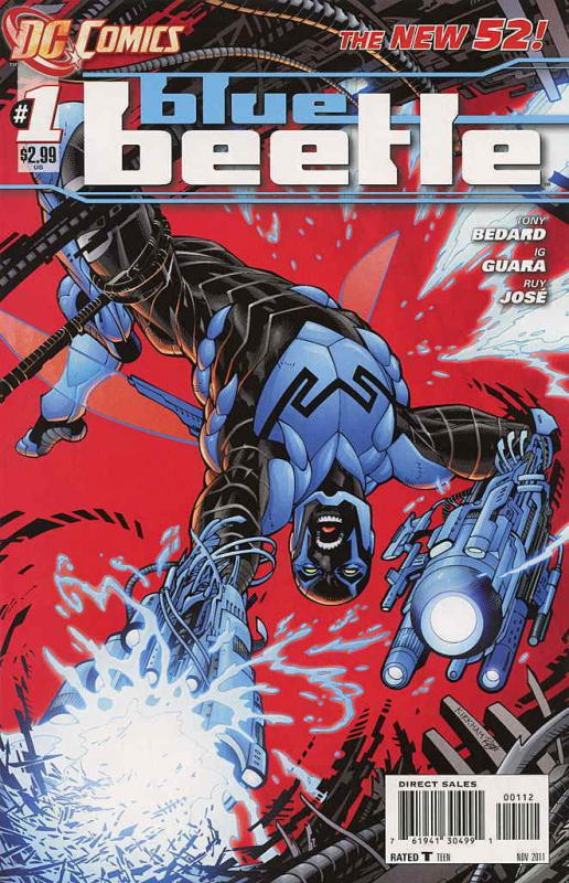 Blue Beetle (5th Series) #1 (2nd) FN; DC | save on shipping - details inside