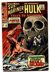 TALES TO ASTONISH #96 comic book -HULK/SUB-MARINER-1967 FN-