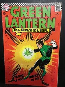 Green Lantern #49 (1966) hi grade 1st DC dazzler key! VF+ Wow!