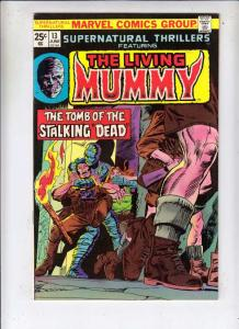 Supernatural Thrillers #13 (Jun-75) NM- High-Grade The Mummy