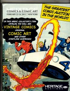 Heritage Comics & Comic Art TPB Graphic Novel Comic Book J342