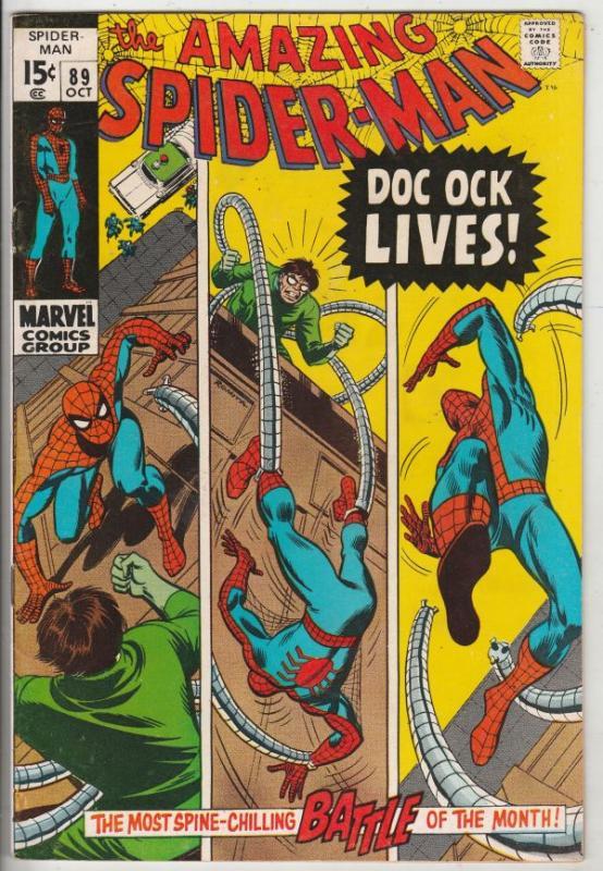 Amazing Spider-Man #89 (Oct-70) VF/NM+ High-Grade Spider-Man