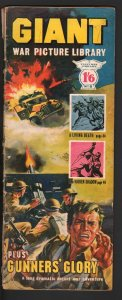 Giant War Picture Library #8 1964-wraparound WWII cover-U.K. published-G