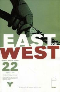 East of West #22 VF/NM; Image | save on shipping - details inside