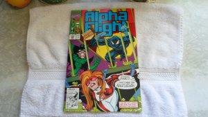 1991 MARVEL COMICS ALPHA FLIGHT # 102