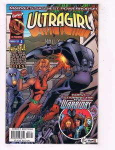 Ultragirl #3 NM Marvel Comics Modern Age Comic Book Mar 1997 DE45