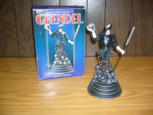 Matt Wagner's Grendel CIB porcelain statue RANDY BOWEN 1st edition in box rare