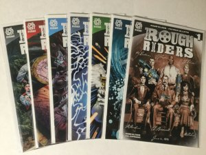 Rough Riders 1-7 Riders On The Storm 1-6 Nation 1 Lot Nm Near Mint Aftershock