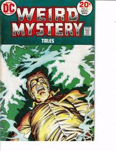 Lot Of 2 Comic Books DC Weird Mystery #7 and New Teen Titans #17  0N8
