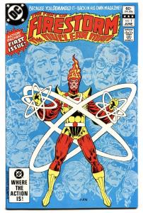 FURY OF FIRESTORM #1 comic book 1982-DC BRONZE AGE-HIGH GRADE