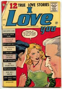I Love You Comic #12 1957- Too Stout for Love - Fat girl story!!!!- VG+