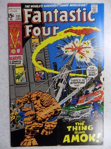 FANTASTIC FOUR # 111 MARVEL HI GRADE