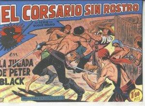 El Corsario sin Rostro, facsimil numero 29: La jugada de Peter Black