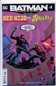 BATMAN PRELUDE TO THE WEDDING RED HOOD VS ANARKY (2018 DC) #1
