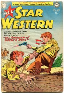 All Star Western #76 1954-Trigger Twins- Johnny Thunder-Golden Age Western  G-