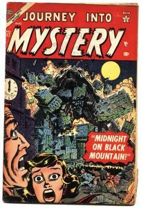 Journey Into Mystery #17. Atlas. Horror. Rare Issue. VG.