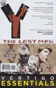 Vertigo Essentials: Y The Last Man #1, NM + (Stock photo)