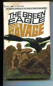 DOC SAVAGE-THE GREEN EAGLE-#24-ROBESON-G-JAMES BAMA COVER G