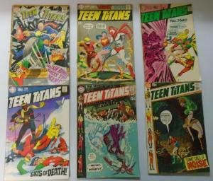 Teen Titans Lot, 11 Different, Average 4.0 (1968-1972)