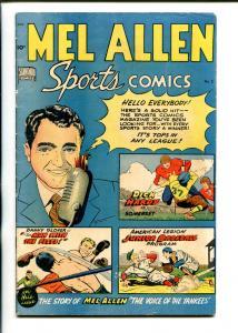 MEL ALLEN SPORTS #5 1949-STANDARD-1ST ISSUE-RICHIE ASHBURN AUTOGRAPH-fn minus