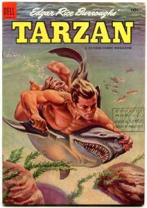TARZAN #56 1954-Library of Parliament File Copy Vf-