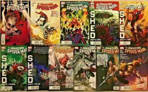 AMAZING SPIDER-MAN#627-637 NM LOT 2010 MARVEL COMICS