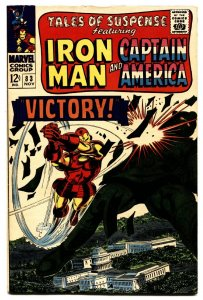 TALES OF SUSPENSE #83 comic book First Appearance of Tumbler-