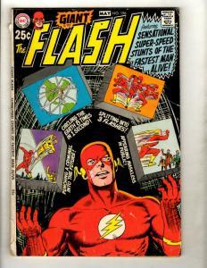 Flash # 196 VG DC Giant Comic Book G70 Superman Batman Superman Arrow GK1