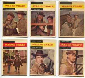 Wagon Train Western TV Series Trading Card Set 1958-Ward Bond-Robert Horton