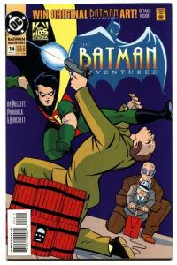 Batman Adventures #14-DC-1993-ANIMATED SERIES-comic book