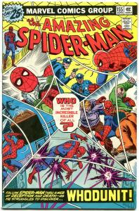 Amazing Spider-Man #155 1976-COOL ISSUE MYSTERY ISSUE MARVEL FN