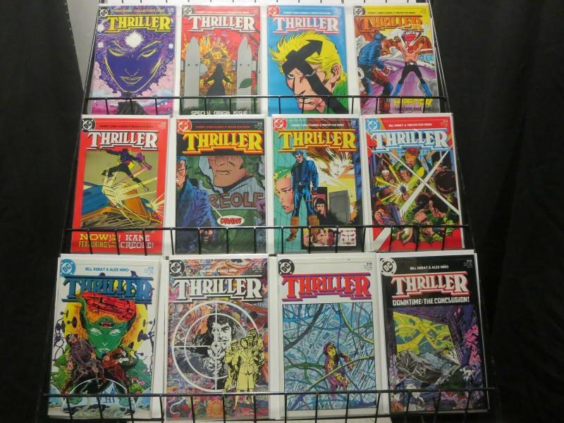 THRILLER 1-12  FLEMING & VON EEDEN  complete series!