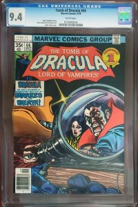 Tomb of Dracula 66 CGC 9.4 Marvel 1978