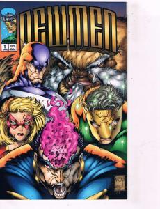 11 New Men DC Comic Books # 1 2 5 6 7 9 16 17 Super Heroes AD40