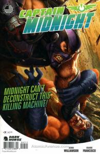Captain Midnight (2nd Series) #7 FN; Dark Horse | save on shipping - details ins
